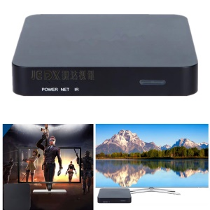 JEDX X1 4K Ultra HD H.265 Android 6.1 Smart TV Box Amlogic S905X Quad Core Media Player 1G+8G - US Plug