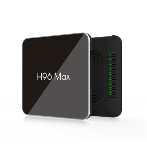 H96 Max X2 Dual WiFi Android 8.1 4GB+64GB Quad Core Smart TV Box with Bluetooth 4.0 - UK Plug