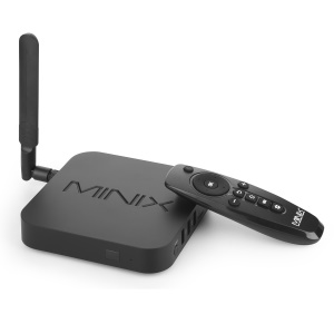 MINIX NEO U9-H 4K Ultra HD Streaming Media Player 64-bit Octa Core Android 6.0.1 TV Box - Black / EU Plug