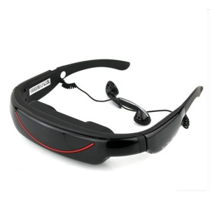 4GB 72-inch Video Glasses 16:9 Wide Screen Virtual Private Mobile Theater with AV-IN