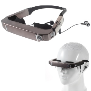VISION-800 3D Video Retina Smart Super Glasses, Support Player Camera Music Browser Etc