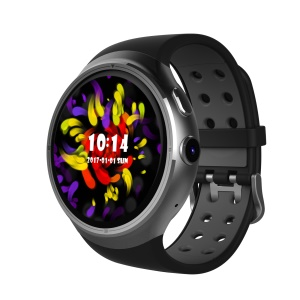 Z10 Android 5.1 3G Watch Phone MTK6580 Quad Core WiFi GPS Smart Watch with Heart Rate Monitor - Silver Color