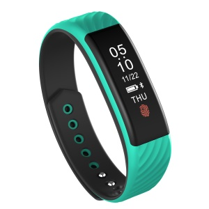 W810 Fitness Tracker Smart Bracelet Watch Wristband with Heart Rate Monitor Bluetooth 4.0 for IOS Android - Green