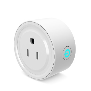 Mini Smart Plug Outlet ETL / FCC Listed WiFi Remote Control Smart Socket fonctionne avec Amazon Alexa - US bouchon