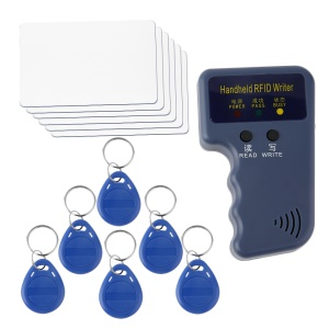 ZC762700 Handheld RFID ID Card Copier/ Reader/Writer with 6 Writable Tags and 6 Cards