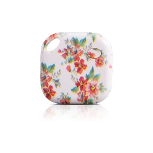 Patterned Smart Self-portrait Tracker Tag Multi-functional Anti-lost Bluetooth 4.0 Smart Finder - Rose