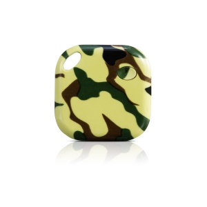 Anti-lost Multi-functional Bluetooth 4.0 Tracker Tag Support Parking Site Searching - Camouflage
