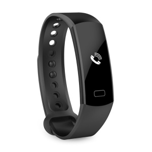 C07 0,91 Zoll OLED-Display Wasserdicht Bluetooth V4.0 Smart Armband Für Android IOS - Schwarz