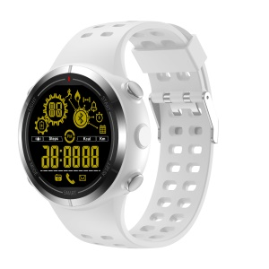 EX32 IP68 Waterproof Multi-functional Sports Smart Bluetooth 4.0 Health Watch - White
