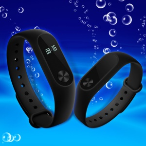 "XIAOMI Mi Band 2 Mit 0,42 \""OLED-Display / Touch-Key-Steuerung / Pulsuhr"