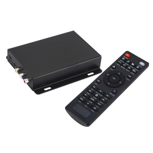 JEDX Full HD 1080P Media Player with HDMI Support U Disk and SD Card - US Plug
