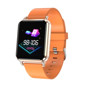 "Q3 1.3"" TFT Screen Multi-functional Sleeping Heart Rate Monitor Bluetooth 4.0 230mAh Smart Wristband with Weather Display - Orange"