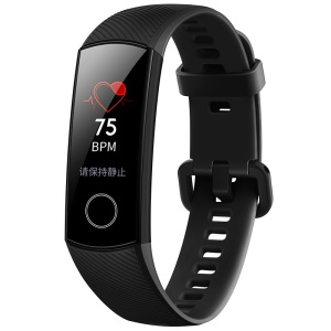 HUAWEI Honor CRS-B19 Band 4 Fitness Tracker Bluetooth 4.2 Heart Rate Monitor Bracelet for Android and iOS Smartphone - Black