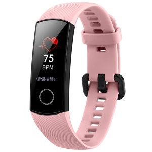 HUAWEI Honor CRS-B19 Band 4 Fitness Tracker Bluetooth 4.2 5ATM Waterproof Smart Wristband for Android and iOS Smartphone - Pink