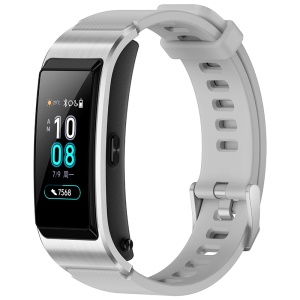 HUAWEI Talkband B5 Color Screen Full Touch Sleep Monitor Fitness Tracker Bracelet Smart Wristband with Bluetooth Headset - Grey