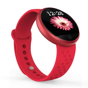 B36 Women Multifunctional Smart Sleeping Heart Rate Monitor Physiological Cycle Wristband - Red