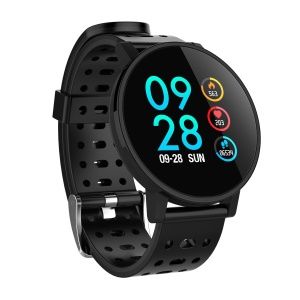 T3 Multifunctional Smart Sleeping Heart Rate Blood Pressure Monitor Wristband - All Black