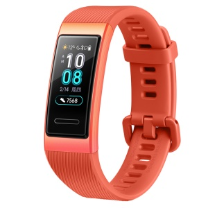 HUAWEI TER-B29 Band 3 Smart Wristband with Heart Rate Monitor Color Touchscreen - Orange