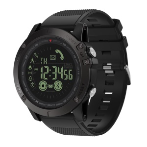 ZEBLAZE VIBE 3 1.24 inch FSTN Screen 50m Waterproof Smart Bracelet - Black