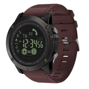 ZEBLAZE VIBE 3 1.24 inch FSTN Screen 50m Waterproof Smart Bracelet - Wine Red