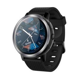 LEMFO LEM8 GPS 4G Android 2GB+16GB with 2MP Camera Smart Watch - Black
