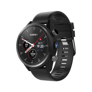 KOSPET Hope Lite 4G Waterproof 1GB+16GB Heart Rate Monitor Smart Watch - Black