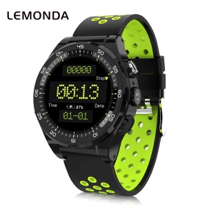 LEMONDA M16 1.3-inch MIPI 4G Watch with Fitness Heart Rate Tracker [South America Version] - Green