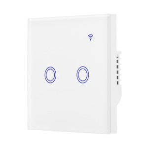 WiFi Smart Switch Voice APP Remote Control for Alexa Google Home - 2 Circles
