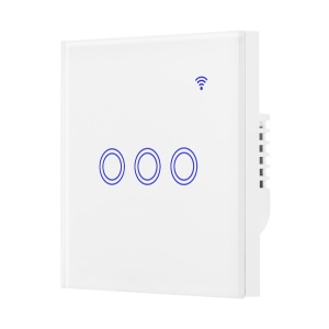 WiFi Smart Switch Voice APP Remote Control for Alexa Google Home - 3 Circles