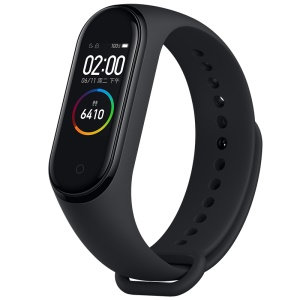 "Xiaomi Mi Smart Band 4 Mit 0,95 ""Farb-Amoled-Display / Pulsmesser - Schwarz"