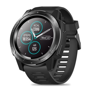 ZEBLAZE VIBE 5 IP67 Waterproof Smart Watch with Heart Rate Tracker - Black