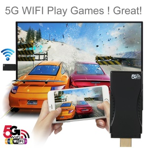 2.4G/5G Dual Band WiFi Doogle DLNA Airplay Mirroring Miracast Wireless Display