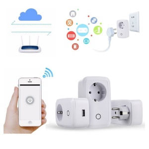 U-30 Wi-Fi Smart Power Socket Remote Control Outlet with Timing Function - EU Plug