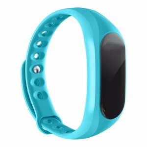 CUBOT V1 Sleep Monitoring Smart Band IP65 Waterproof Alarm Clock - Blue