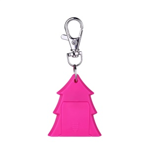 Christmas Tree Bluetooth 4.0 Anti-lost Tracker Finder Locator Selfie Shutter - Rose
