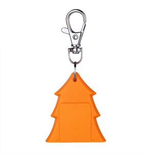 Christmas Tree Anti-lost Finder Bluetooth 4.0 Tracker Selfie Shutter (CE/RoHS) - Orange