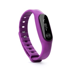 Smart Bluetooth 4.0 Fitness Wristband Blood Pressure Heart Rate Monitor - Rose
