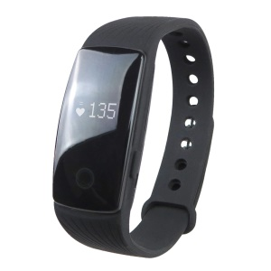 ID107 24H Dynamic Heart Rate Monitor Bluetooth 4.0 Fitness Smart Band (CE/RoHS) - Black