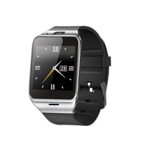 "GV18 A-plus 1.5"" Bluetooth Smart Watch Phone with Camera NFC Pedometer Function - Black"