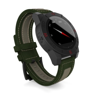 N10 Men Smartwatch Outdoor Sport Watch with Heart Rate Monitor Compass - Black