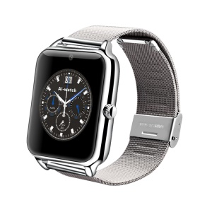 Z50 Smart Bluetooth Watch Phone with Camera Support SIM Card for Android - Silver Color