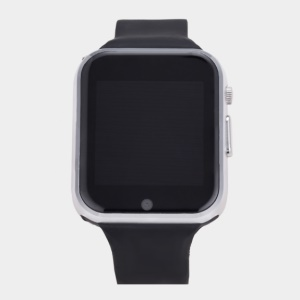 GW05 Bluetooth 4.0 Smart Watch Phone 1.54-inch MT6572A 1.2G Dual-core 512MB + 4GB - Silver Color
