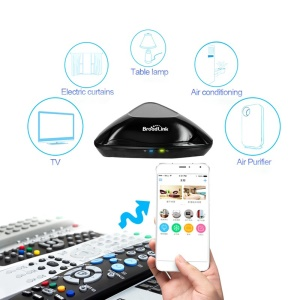 BROADLINK RM Pro Wi-Fi Smart Home Automation Learning Universal Remote Control for Apple Android Smartphones -  EU Plug