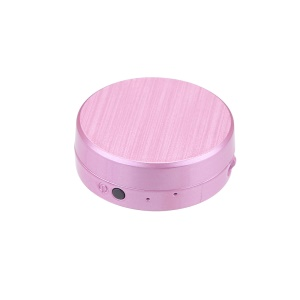 A68 Mini Portable Real Time GPS Tracker Locator for Person Pet Vehicle - Pink