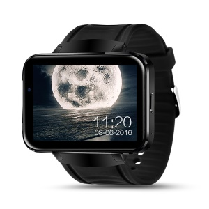 "IMACWEAR W1 2.2"" Large Touch Screen 3G Bluetooth Smart Watch Phone Support SIM TF Card - Black"