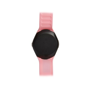 T11 Pro Smart Wrist Watch Bluetooth 3.0 MTK6261D Multi-functional Sports Fitness Watch - Pink