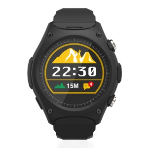 Q8 Outdoor Sports Bluetooth Smart Watch with Heart Rate Monitor - Black