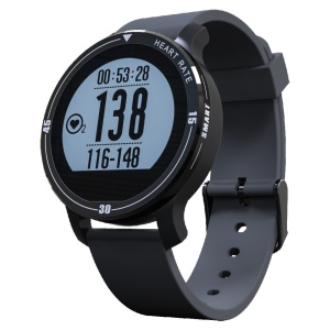 S200 Optical Heart Rate Monitor Aerobic Exercise Monitor IP67 Outdoor Sports Bluetooth Smart Watch - Black
