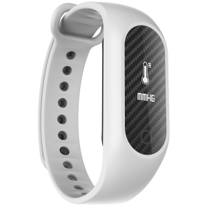 B15S Smart Wristband Fitness Tracker Blood Oxygen / Blood Pressure / Heart Rate Monitor Health - White