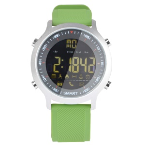 EX18 Luminous Multifunctional 5ATM Waterproof Men's Luxury Sports Watch for iOS and Android - Green